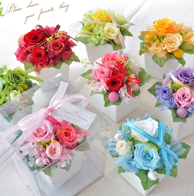 敬老の日プレゼント・ギフト。鉢花のおすすめは楽天でも人気のドライフラワー。