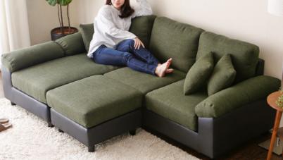 楽天通販でバカ売れのソファー(3人掛け)。人気の秘密を口コミから探ってみた。