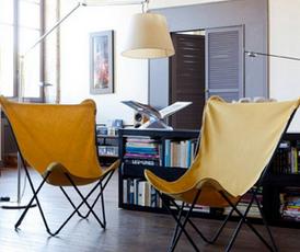 アウトドア用品を部屋使い!? オシャレで機能的なフランス製・ラフマのチェアで部屋のイメージを一新!