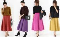 【レディース】安い、かわいい!楽天で人気のスカート・ランキング!
