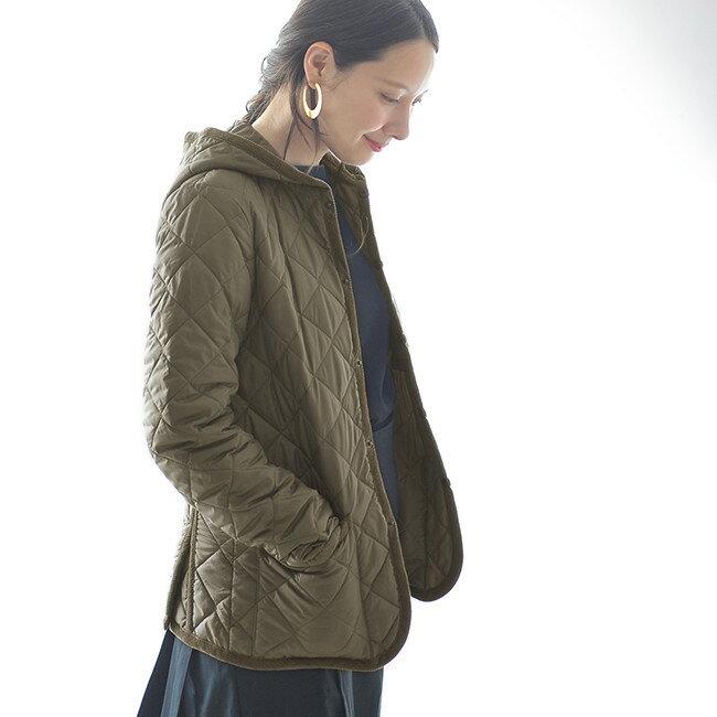 キルティングジャケット・コートの定番ラベンハム。コーデでインスタでチェック!