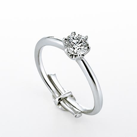 銀座ダイヤモンドシライシ 婚約指輪 ダイヤモンド